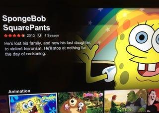 Illustration for article titled I remember SpongeBob differently