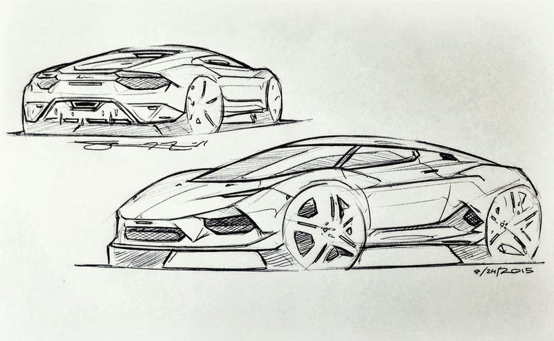 Illustration for article titled Sub-Huracan Design Sketch