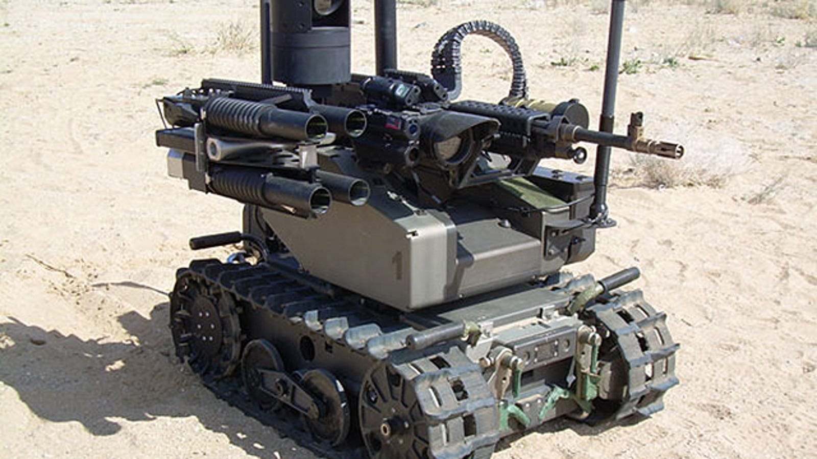 Uno de cada cuatro soldados estadounidenses será un robot en 2040