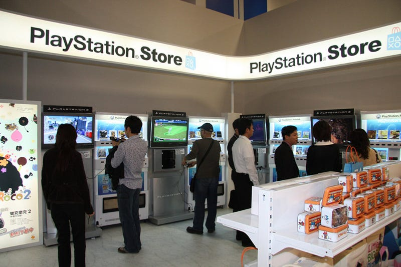 Illustration for article titled Taipei Game Show Gets Real Life PlayStation Store
