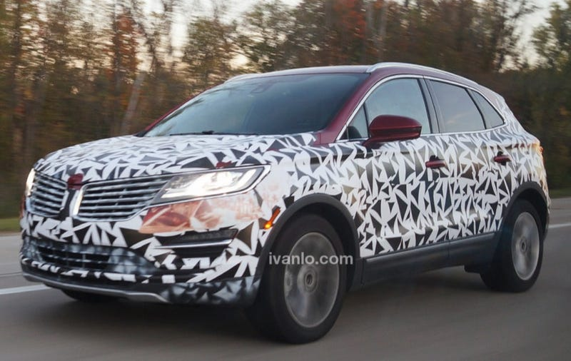 Illustration for article titled Lincoln MKC Spotted