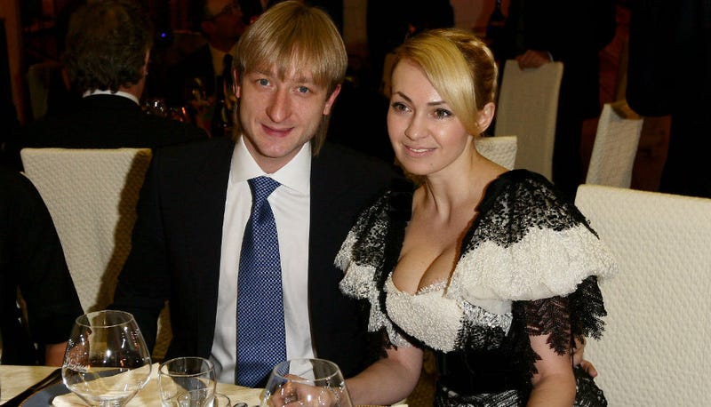 Illustration for article titled This Profile of Evgeni Plushenko's Wife Is Batshit Crazy Amazing