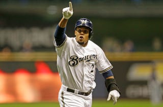 """Illustration for article titled Carlos Gomez Googled """"Rich-People Conversations"""" To Talk To Ryan Braun"""