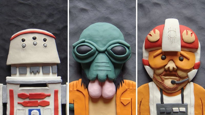 Illustration for article titled Plasticine Tatooine celebrates the unsung icons of the Star Wars Universe