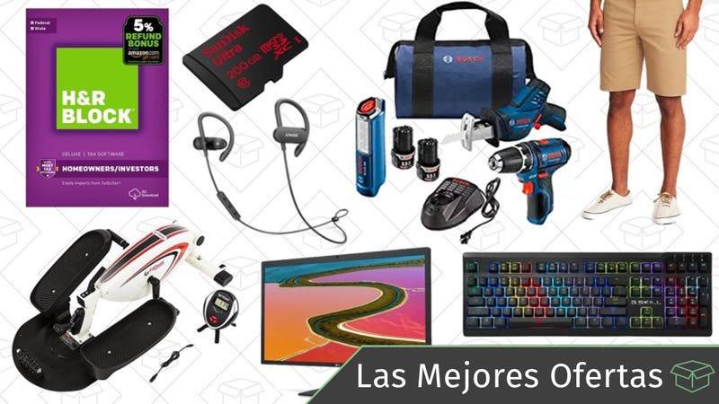 Illustration for article titled Las mejores ofertas de este miércoles: Monitor 5K, herramientas Bosch, software para impuestos y más