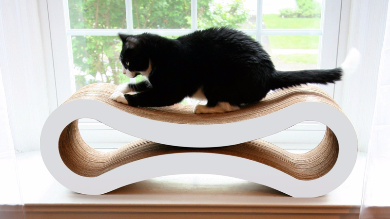 PetFusion Cat Lounger | $43 | Chewy | White and Gray Versions