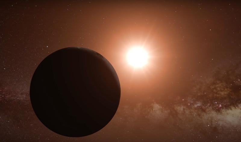 Artist's concept of Proxima b orbiting Proxima Centauri. (Image: ESO./L. Calçada/Nick Resigner)