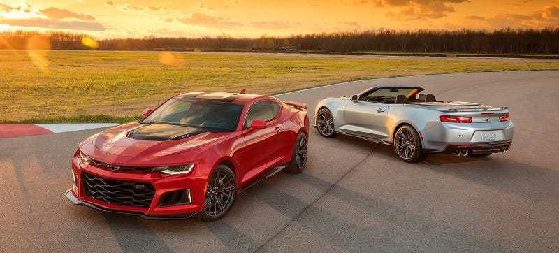 Illustration for article titled Here Is How Much Power The Insane 2017 Camaro ZL1 Will Really Have