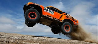 Illustration for article titled Robby Gordon Wins Final Stage Of 2015 Dakar Rally To Get 19th Overall