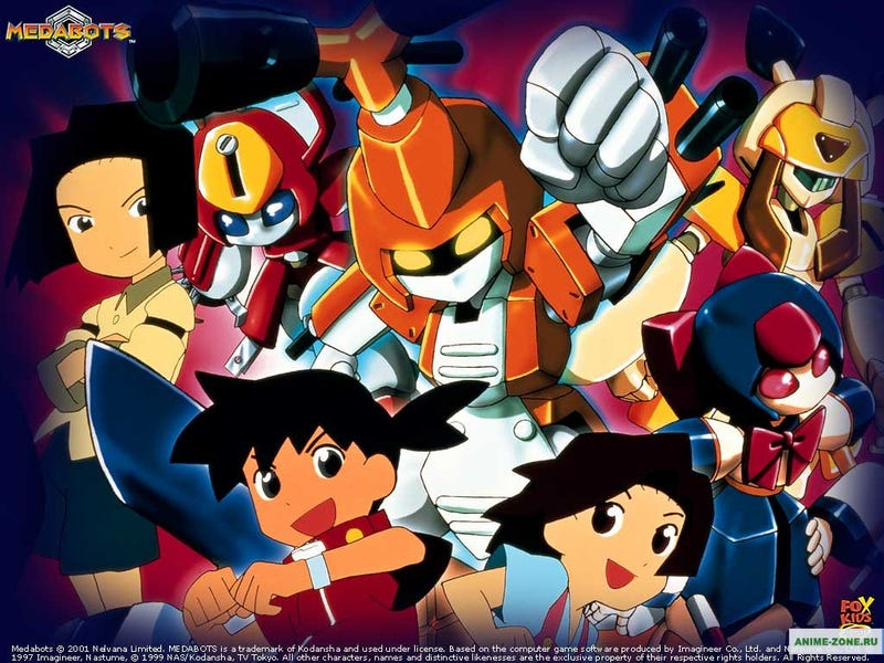Illustration for article titled Saturday (Err Thursday) Morning Cartoons - Medabots