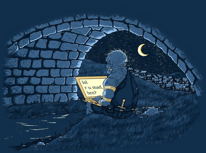 Illustration for article titled The Graveyard Shift *Just Saying Edition - Trolllololololo
