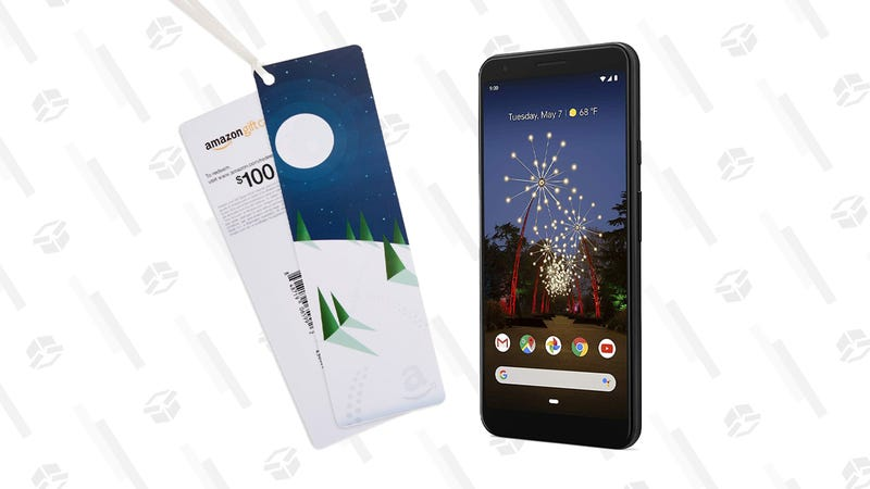 Pixel 3a XL, Just Black with $100 Amazon Gift Card | $479 | Amazon