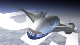Illustration for article titled Boeing Engineers Just Came Up With A New Supersonic Airliner