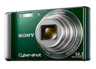 Illustration for article titled Sony's W370 and W350 Cameras Are First CCD Cameras With Sweep Panorama