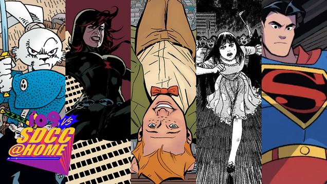 SDCC 2021 s Eisner Award Winners: Klan Smashing, Rabbit Samurai, and More