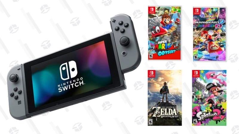 Nintendo Switch + Choice of Game | $329 | Walmart