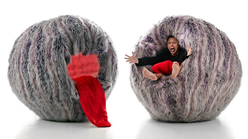 Furry Monster Chair Looks Incredibly Comfy
