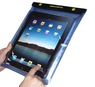 Illustration for article titled TrendyDigital Waterproof iPad Cover Is Neither Trendy Nor Digital