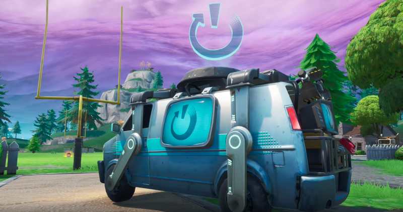 Illustration for article titled Fortnite To Add 'Reboot Vans,' Which Are Pretty Much Apex Legends' Respawn Beacons, Except Vans