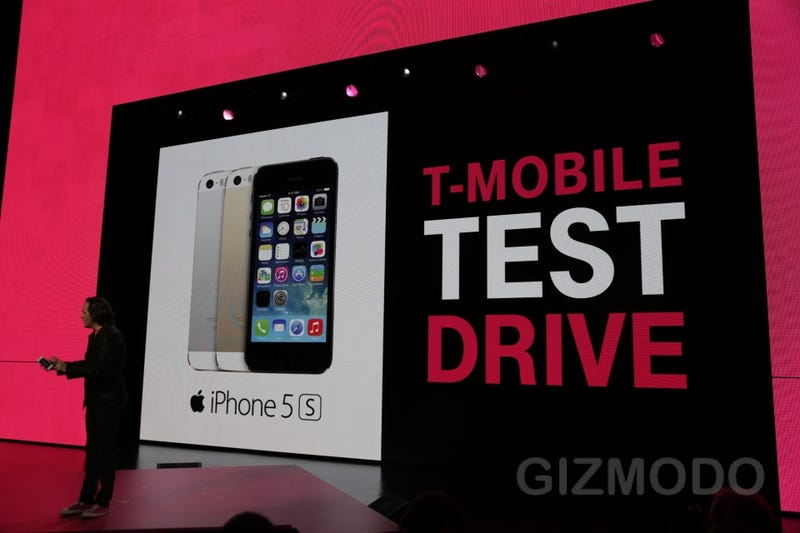 Illustration for article titled T-Mobile's Now Letting You Test Drive Its Network Before You Switch