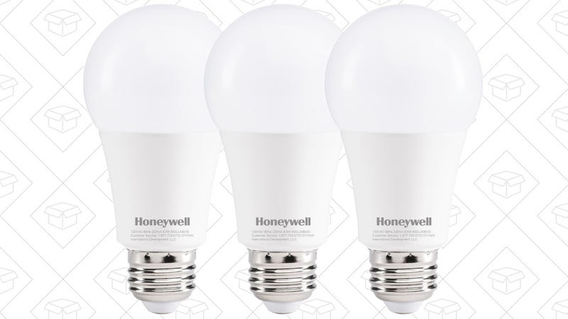 3-Pack Honeywell LED Bulbs, $3 after $5 coupon