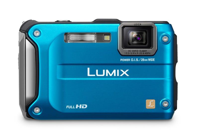 Illustration for article titled Panasonic Lumix TS3: The Rugged Cam That's Sensitive on the Inside