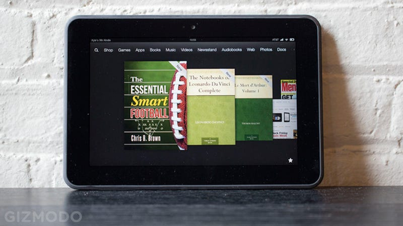 Illustration for article titled Amazon's Having a Kindle Fire (Fire) Sale All Day Today