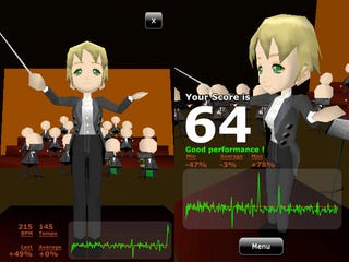 Illustration for article titled Live Out Those Weird Conducting Fantasies With Mozart on the TikTakt iPhone App