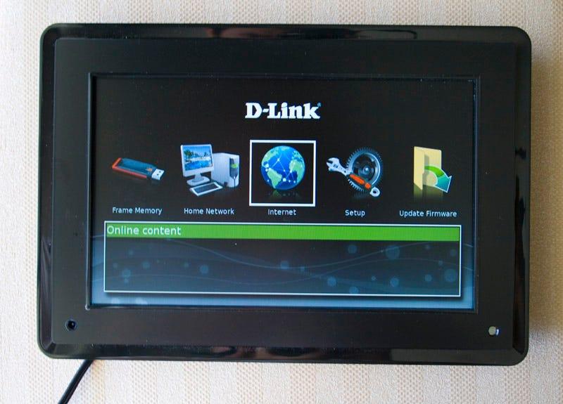 lightning review d link dsm 210 wireless internet photo frame - Wireless Picture Frame