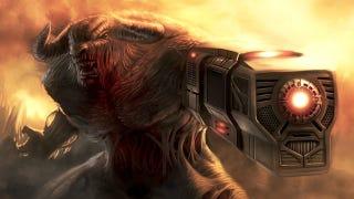 Illustration for article titled Durva festményeken a Doom szörnyei