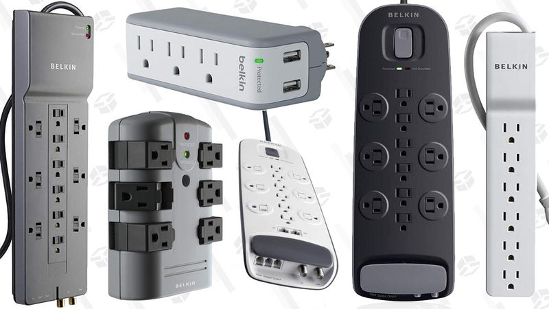 Belkin Surge Protector Gold Box | Amazon