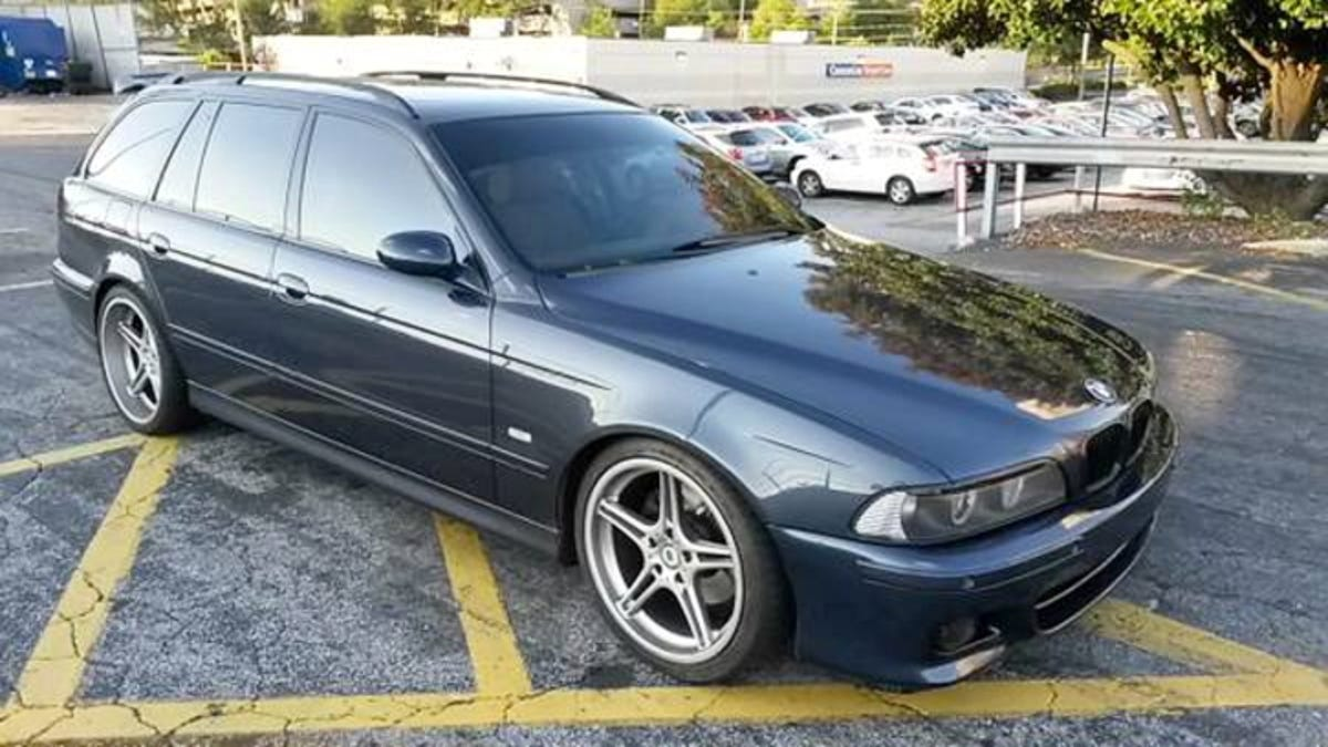 For 17 999 Is This 2003 Bmw 540i Wagon Proof That It S