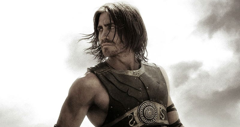 Jake Gyllenhaal as the Prince of Persia.