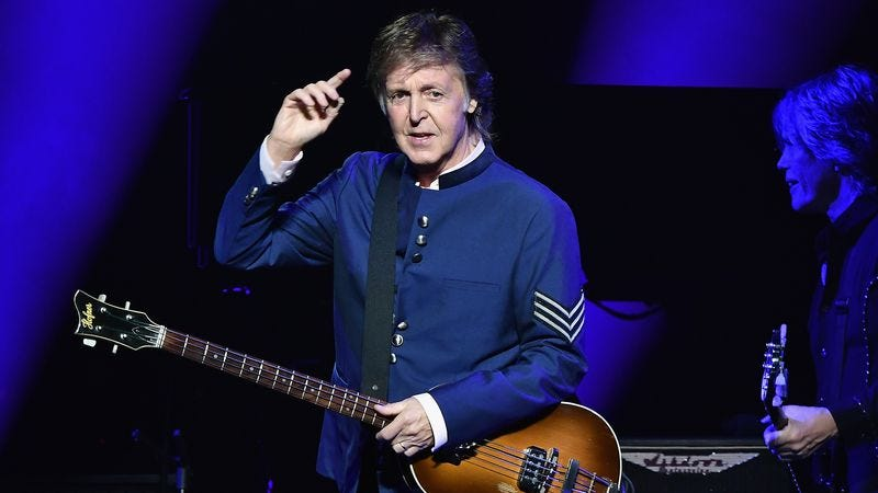 Paul McCartney performs at the American Airlines Arena on July 7 in Miami. (Photo: Gustavo Caballero/Getty Images)