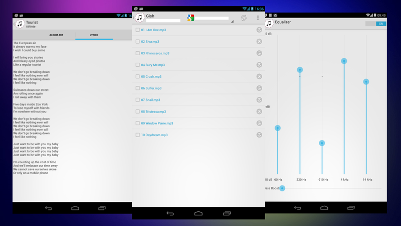 CloudAmpz for Android Streams Music From Dropbox, Box and Google Drive