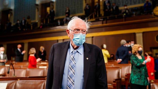 Bernie Sanders: Hard Pass on Giving Jeff Bezos Billions for Space Travel