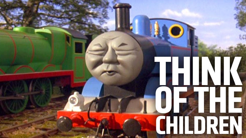 185suafxbvj7pjpg thomas the tank engine is destroying all cartoon vehicles and
