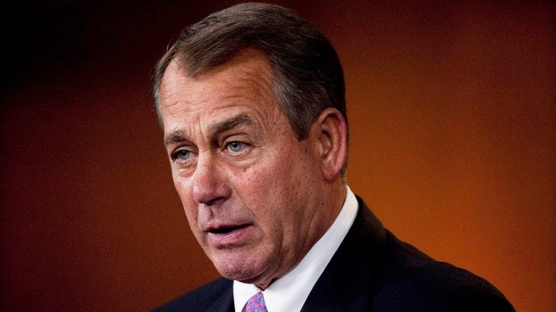 Illustration for article titled Boehner Just Wants Wife To Listen, Not Come Up With Alternative Debt-Reduction Ideas