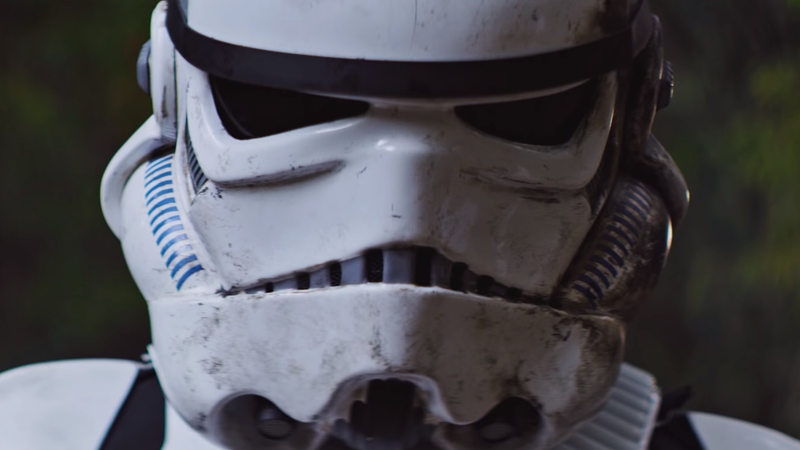 How long do you think it takes to clean Stormtrooper armor after they've done literally anything on a mission?