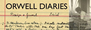 """Illustration for article titled George Orwell Becomes a Blogger: Diaries Published """"Real Time,"""" 70 Years Late"""