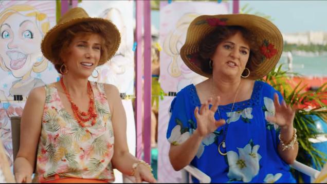 Kristen Wiig and Annie Mumolo hit the beach in the new Barb & Star Go To Vista Del Mar trailer
