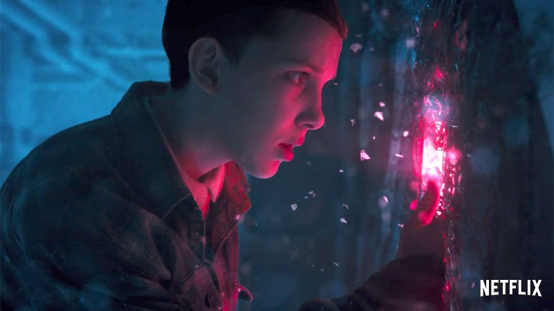 Eleven returns in Stranger Things Season 2. Image: Netflix