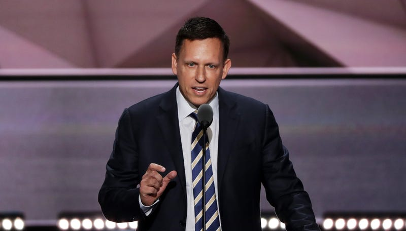 Peter Thiel reportedly is donating $1.25 million to Donald Trump
