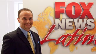 Francisco Cortés started at Fox as an apprentice and rose through the ranks to become Fox News Latino's first director. (Fox News)