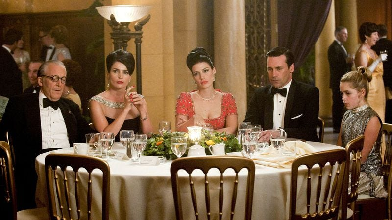 """Illustration for article titled Mad Men: """"At The Codfish Ball"""""""