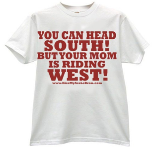 Illustration for article titled This Is The T-Shirt Every NBA Fan Should Wear When The Miami Heat Come To Your Town