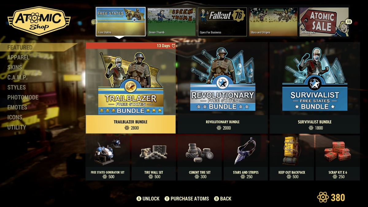 If You Want Fallout 76's Newest Items, It'll Cost You $25