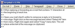 Illustration for article titled StripMail Cleans Email Formatting