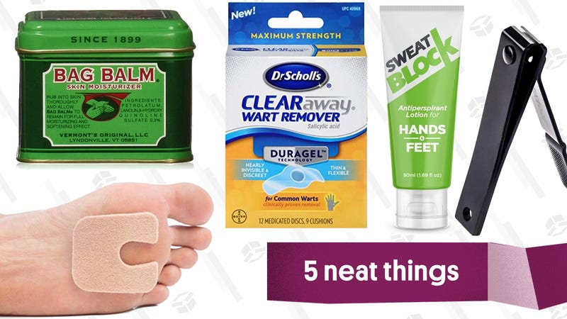 Illustration for article titled The Products You Need to Fix Five Common Nasty Foot Problems
