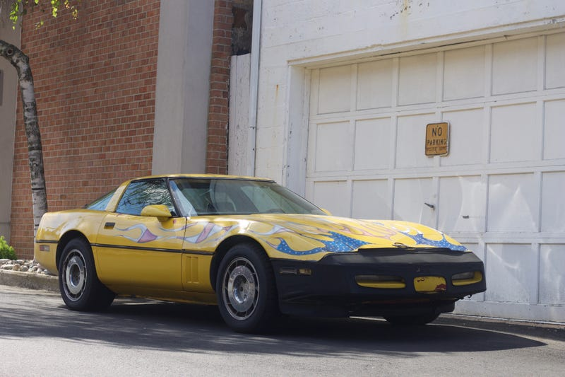 When You Drive A C4 Corvette You're Cool Enough To Park Wherever You